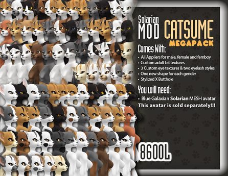 ::Static:: Solarian Catsume Mod - MEGAPACK
