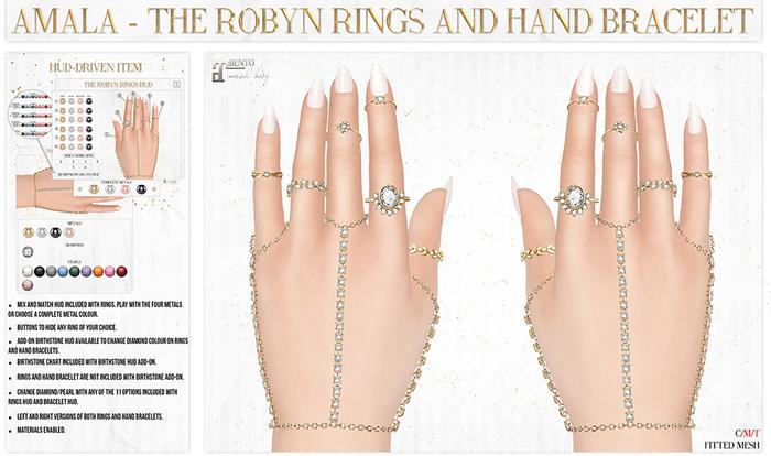 Amala - The Robyn Hand Bracelet