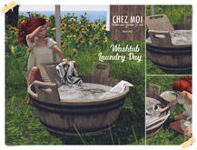 Laundry Day Washtub ♥ CHEZ MOI