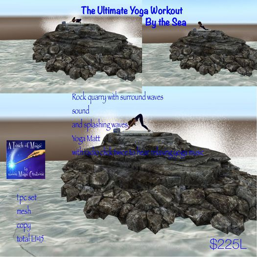 The Ultimate Yoga workout by the sea Crate