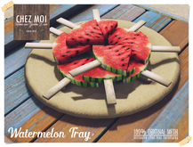 Watermelon Tray ♥ CHEZ MOI