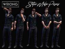WRONG - Static Male Poses 3