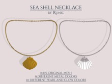 .: Runic :. Sea Shell Necklace