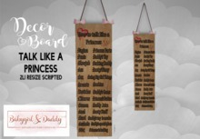 Babygirl&Daddytoo!-How to talk l Board boxed