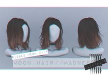 Moon. Hair // - B&W - Madness