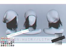 Moon. Hair // - B&W - Lithium