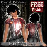 FREE Dark moon T-shirt unisex