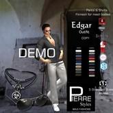PierreStyles EDGAR mesh pants & Shirts  DEMO