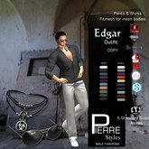PierreStyles EDGAR mesh pants & Shirts outfit-