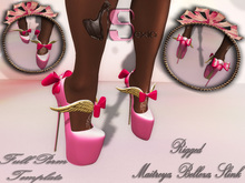 * Sexia Shoes Wings Full Perm Mesh