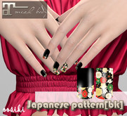 <ooSiki>Japanese pattern[bk] [nail Maitreya]
