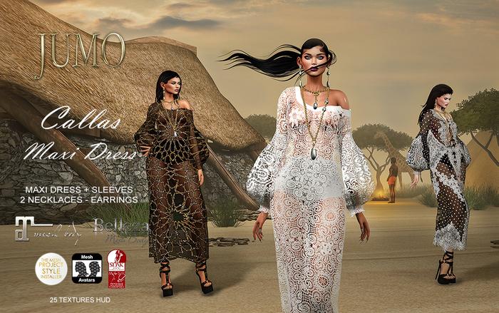 .:JUMO:. Callas Maxi Dress - ADD ME
