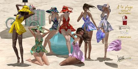 AlaFolie - DEMO A la plage ( wear to unpack)