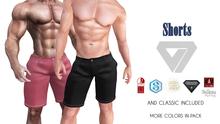 ILLI - [Aesthetic,Signature,Belleza,SLink,TMP,Adam] Shorts (HUD Driven)
