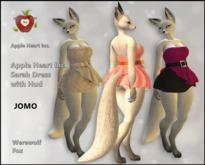 Apple Heart Inc. Jomo Sarah strapless Dress with Hud Werewolf Fox