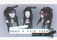 Moon. x [VALE KOER] Hair // - B&W - Fatal Horizon