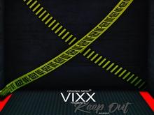 -VIXX- Mesh backdrop - Keep out