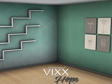 -VIXX- Mesh backdrop - Hope