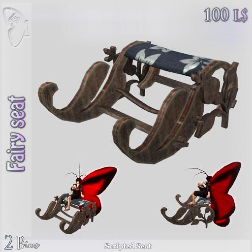 (Box) Fairy seat