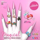 Astralia - Magical rings (Maitreya bento)