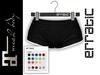 erratic / piper - shorts / black (maitreya)
