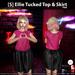 s  ellie tucked top   skirt pink ad