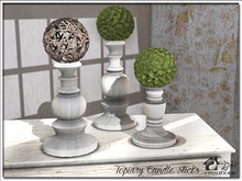 Topiary Candle Sticks