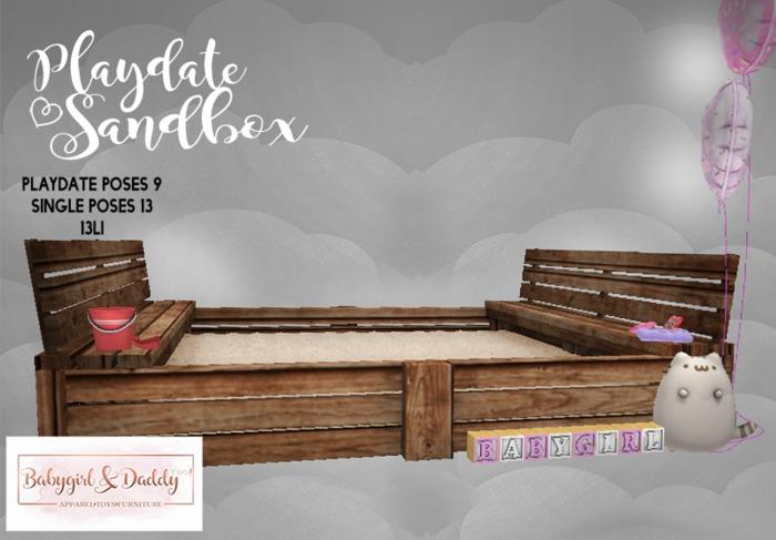 Babygirl&Daddytoo! Playdate Sandbox(babygirl)boxed