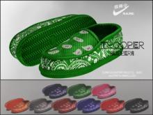 "#VERYRARE ""Trooper"" Slippers #GREEN"