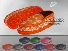 """#VERYRARE """"Trooper"""" Slippers #ORANGE"""