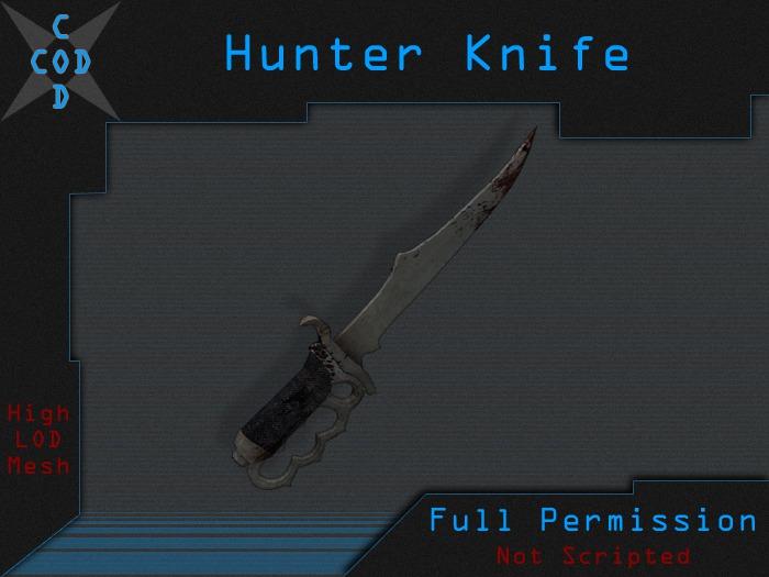 [COD] Hunter Knife - Full Perm Weapon