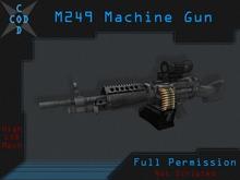 [COD] M249 Machine Gun - Full Perm Weapon