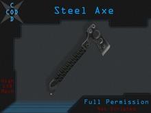 [COD] Steel Axe - Full Perm Weapon