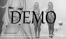 ::MeowAndStuff:: Kazumi Catya Bento Shape (DEMO)
