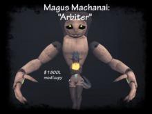 "Magus Machanai: ""Arbiter"" - Box V1.1"