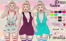 .::Fiorella::. Dress Nadine - HUD 15 Colors