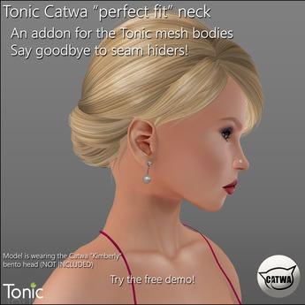 "Tonic - Catwa ""perfect fit"" neck addon DEMO"