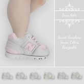 Sweet Sneakers Fatpack - Resizeable for all kids!