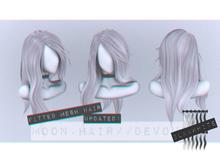Moon. Hair // - B&W - Devour