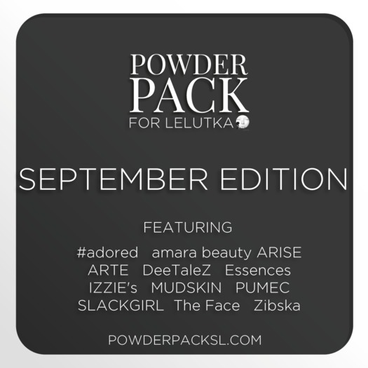 Powder Pack for LeLutka September Edition
