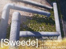 [Sweede] Industrial pipe kit 100% Mesh