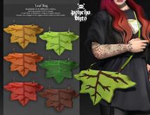 .{PSYCHO:Byts}. Leaf Bag - Orange