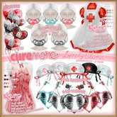CUREMORE / Lovely Clinic / X-Ray Chestpiece / MINT