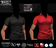 .:-->> YELIZ <<--:.  *CRUISER* Polo Shirt >COLOR-Edition< - HUD -