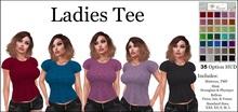 Nixxi Fashions - Ladies Tee ( 35 Option HUD)