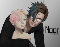 [BAD HAIR DAY] - Noor - BLACK and WHITE