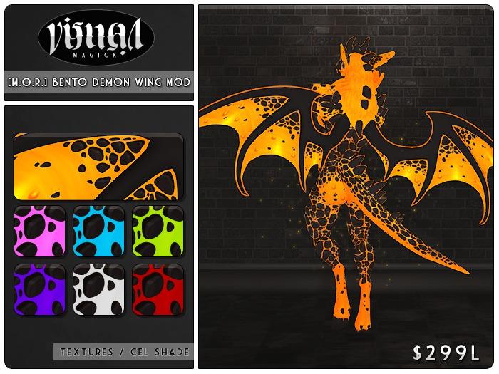 Infernus - [M.O.R] Demon Wing Mod