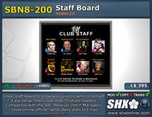 SHX-SBN8-200 Staff board online indicator