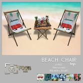 [ Focus Poses ] Beach Chair (men's version )