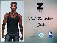 Derek - Men's t-shirt / Black (Gianni .  Jake . SLink)
